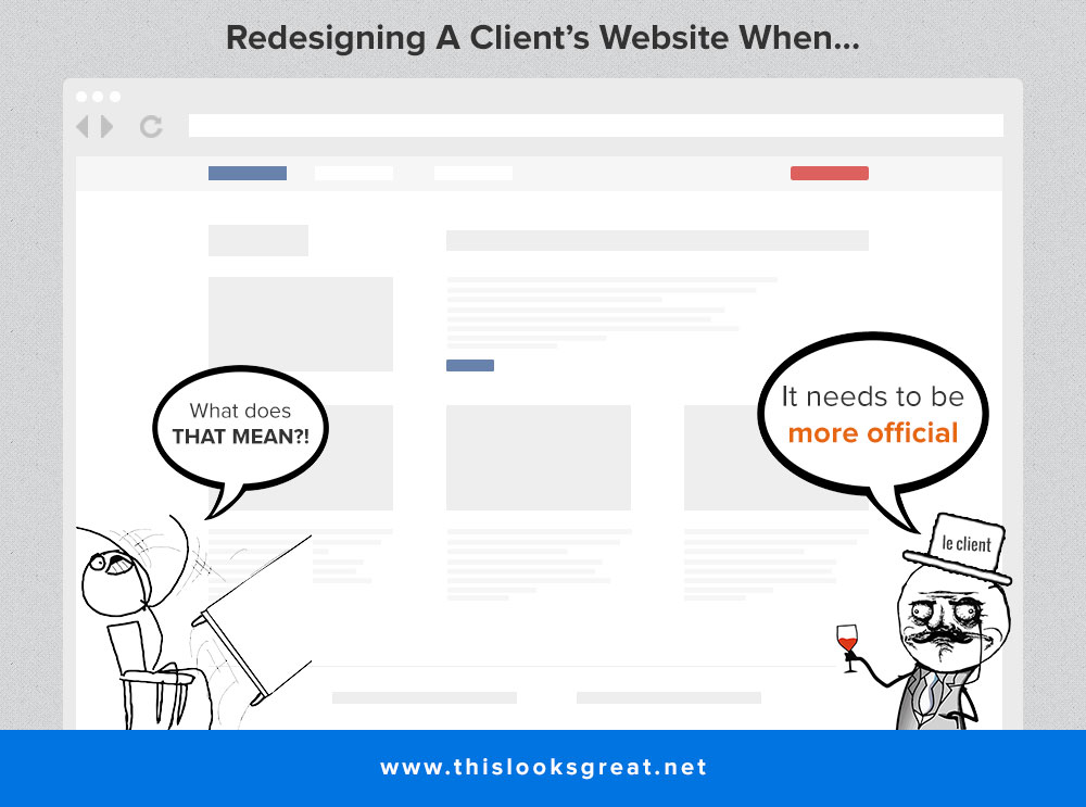 Redesigning A Client's Website When… #9