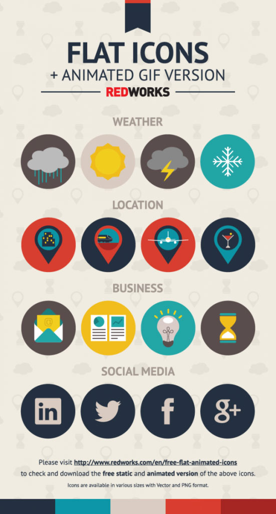 thislooksgreat net - Flat and Animated Icons