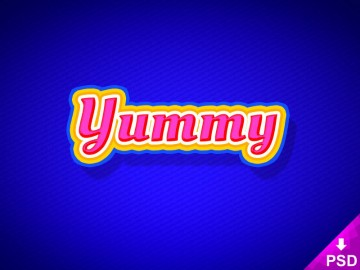 Yummy Text Style