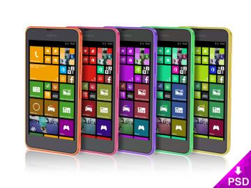 Nokia Lumia Mockup Freebie