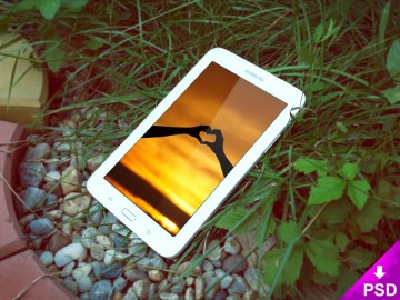 Galaxy Tab 3 Mockup