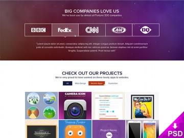 Amazing Homepage Design