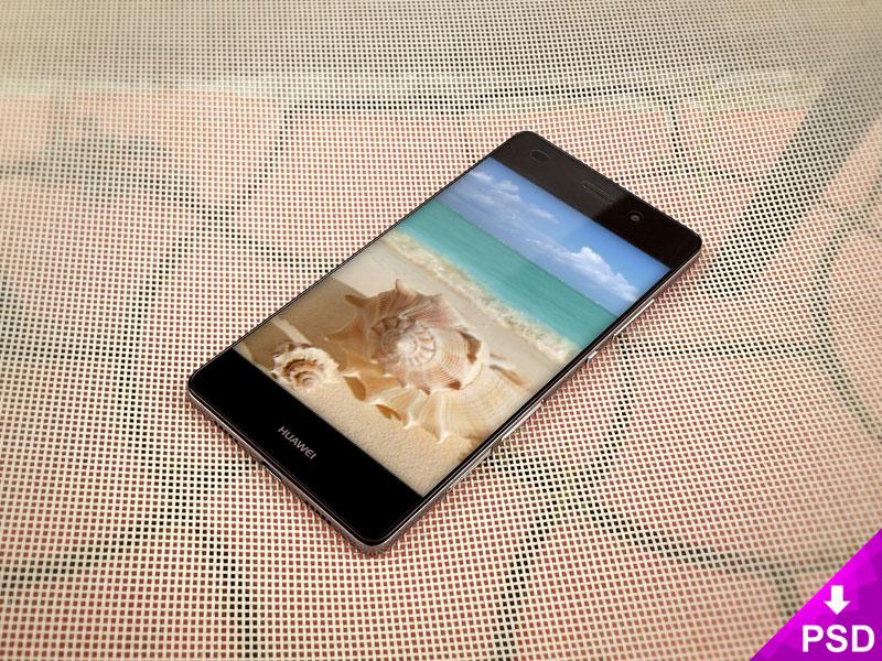 Huawei Smartphone Mockup