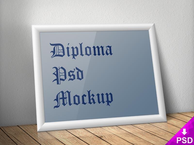 Diploma Frame Mockup