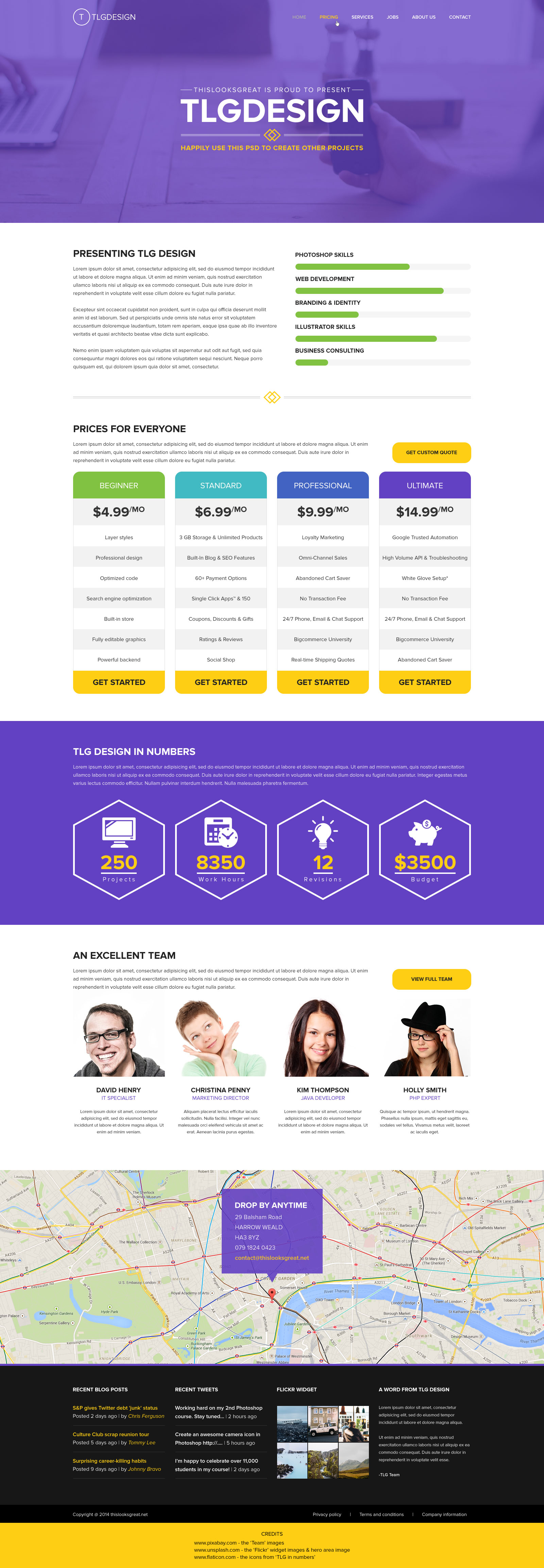 Design Studio Webpage
