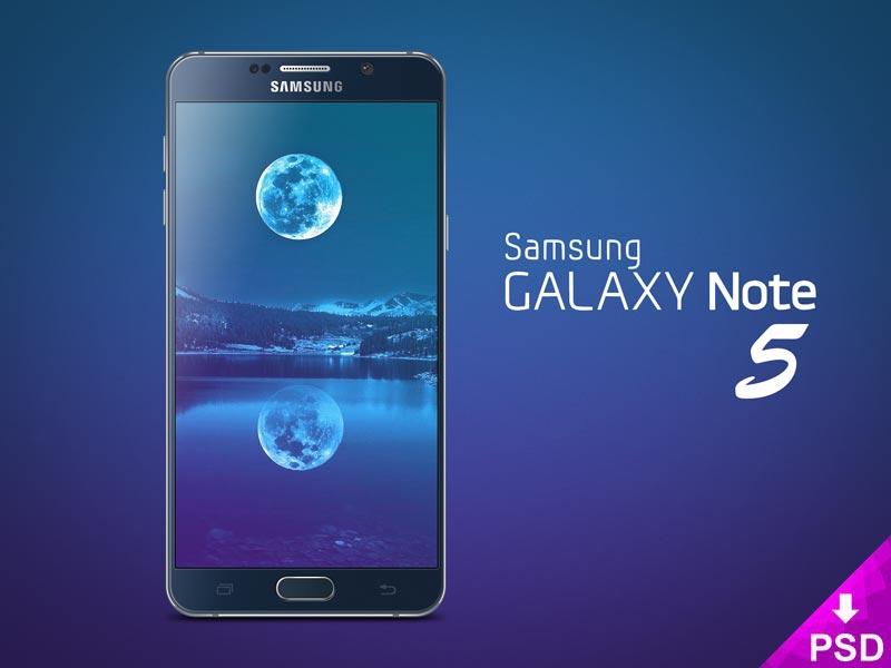Samsung Galaxy 5 Mockup