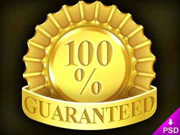 100% Guaranteed Icon
