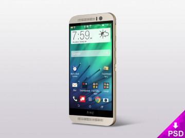 HTC One 8 Mockup
