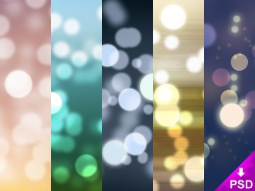 Bokeh Lights Wallpaper Pack