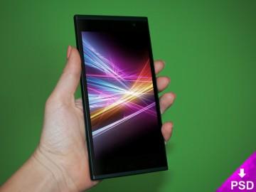 AllView Smartphone Mockup