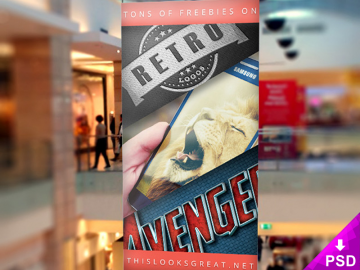 Mall Banner Mock-up
