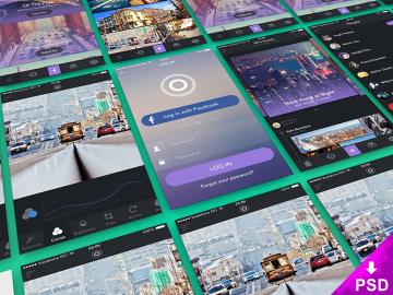 App Presentation Screens