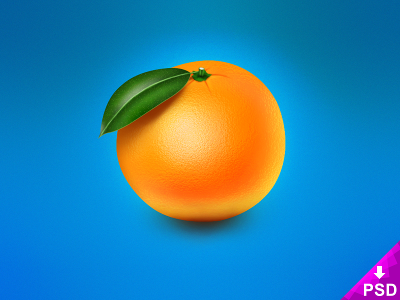 Realistic Orange Image