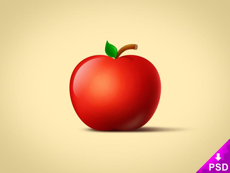 Realistic Apple Image