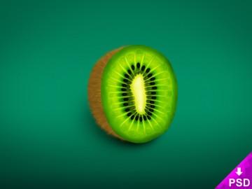 Realistic Kiwi Image