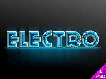 Electro Text Style
