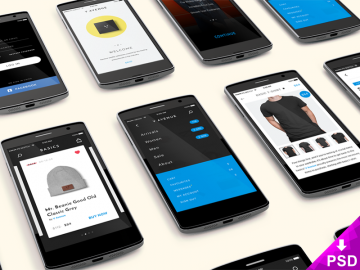 SmartPhones-App-Mock-up-Screens 800 x 600 corner