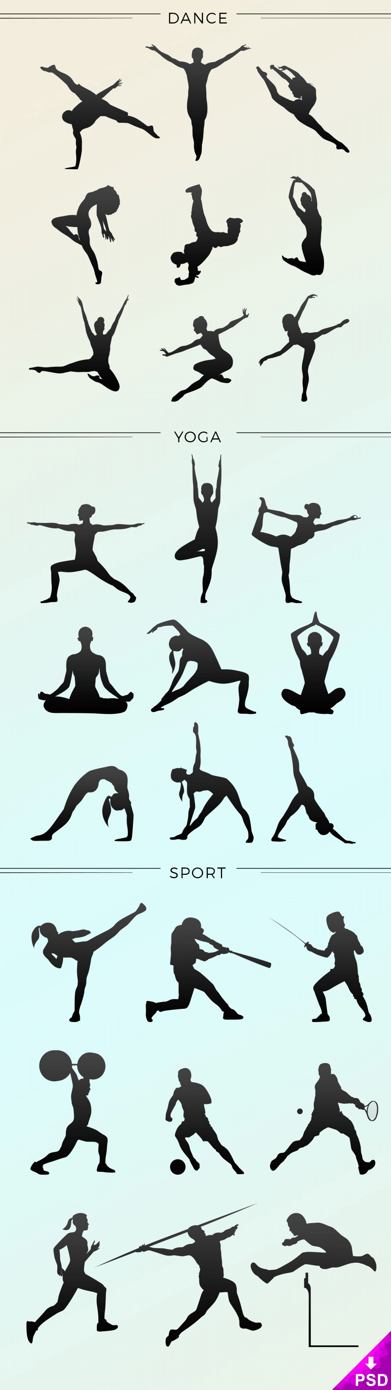 Sport Vector Icons Shapes