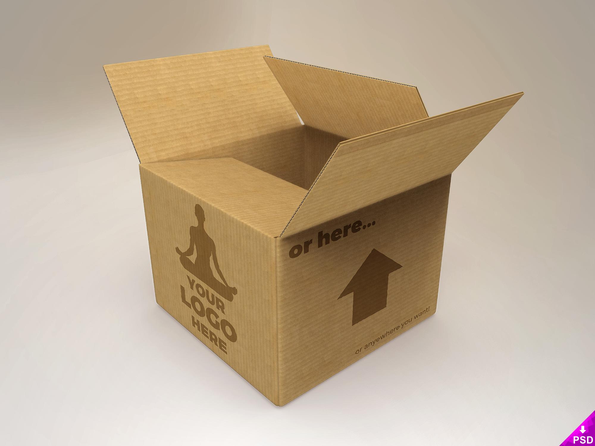 Cardboard Mockup